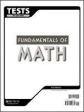 9781579248680: Fundamentals Of Math Tests