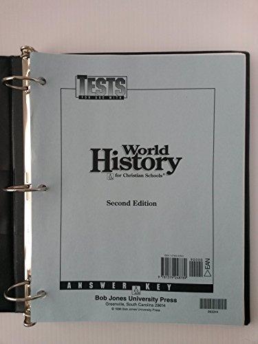 9781579248789: World History Tests Answer Key