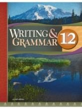Writing and Grammar 12 for Christian Schools (1579249000) by Bob Jones University