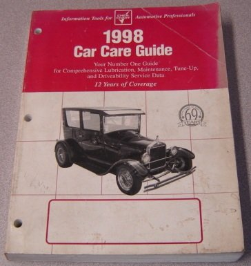 9781579320805: 1998 Chek-Chart Car Care Guide