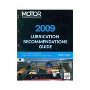 9781579325732: Lubrication Recommendation Guide 2009 (Chek-Chart Lubrication Recommendations Guide)