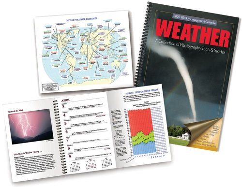 9781579392802: Weather 2007 Desk Calendar: A Collection of Photography Facts,and Stories