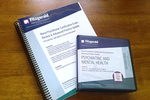 9781579425265: Fitzgerald Nurse Practitioner Certification Exam Review & Advanced Practice Update: Psychiatric and Mental Health Program
