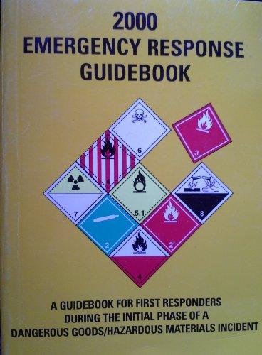 Emergency Response Guidebook: Pocket Size: Keller