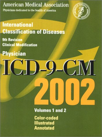 9781579472078: ICD-9-CM 2002: International Classification of Diseases, 9th Revision, Volumes 1 and 2 (Color
