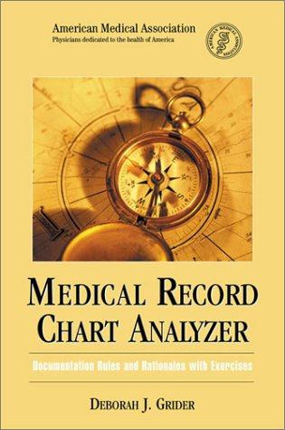 9781579472696: Medical Record Chart Analyzer (Billing and Compliance)