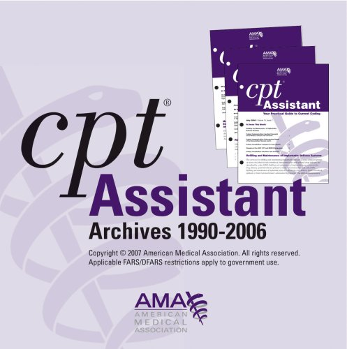 9781579478193: CPT Assistant Archives 1990-2006 for 6 to 10 Users