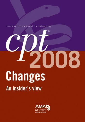 9781579479411: CPT 2008 Changes: An Insiders View (Cpt Changes: An Insiders View)
