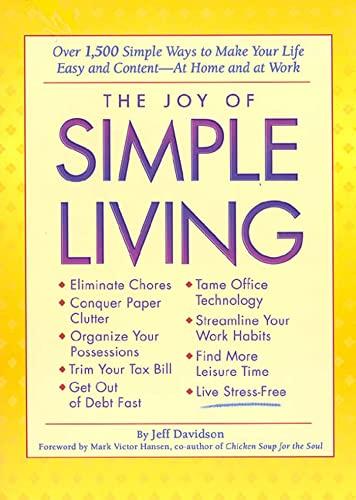The Joy of Simple Living: Over 1,500: Davidson, Jeff