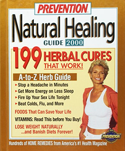 Prevention Natural Healing Guide 2000 (9781579542184) by Magazine, Prevention
