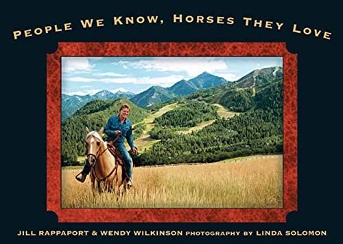9781579548575: People We Know, Horses They Love
