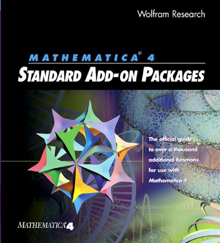9781579550066: Mathematica 4.0 Standard Add-On Packages: The Official Guide to over a Thousand Additional Functions for Use With Mathematica 4