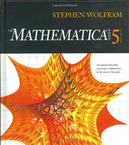 Mathematica Book: Wolfram, Stephen