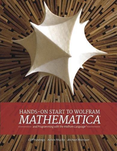 9781579550776: Hands-On Start to Wolfram Mathematica