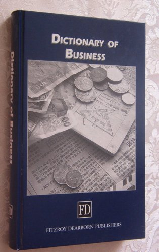 9781579580773: Dictionary of Business