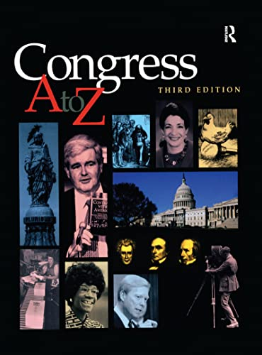 9781579581251: Congress A-Z (Cq's Ready Reference Encyclopedia of American Government)