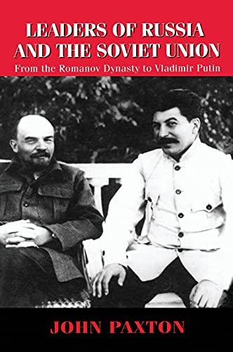 9781579581329: Leaders of Russia and the Soviet Union: From the Romanov Dynasty to Vladimir Putin