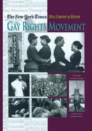 9781579582258: The New York Times Twentieth Century in Review: The Gay Rights Movement