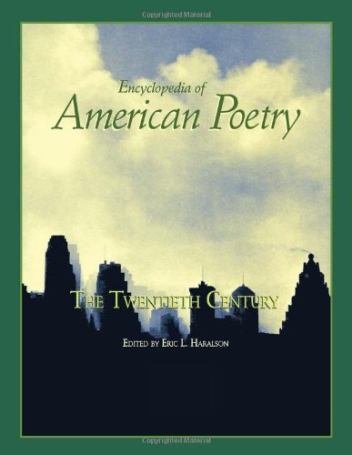 Encyclopedia of American Poetry : The Twentieth Century: Haralson, Eric L.