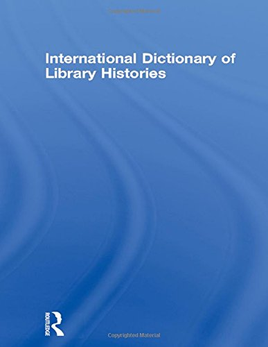 International Dictionary of Library Histories: Stam,David H.