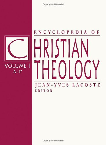 9781579582500: Encyclopedia of Christian Theology: 3-volume set