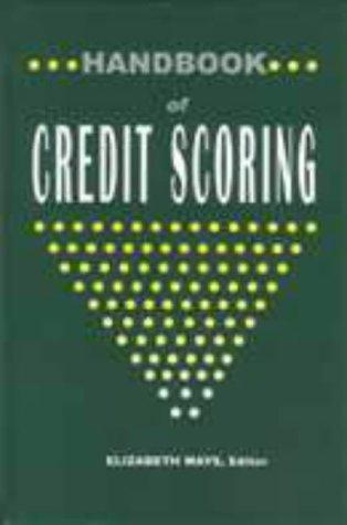 9781579583026: Handbook of Credit Scoring