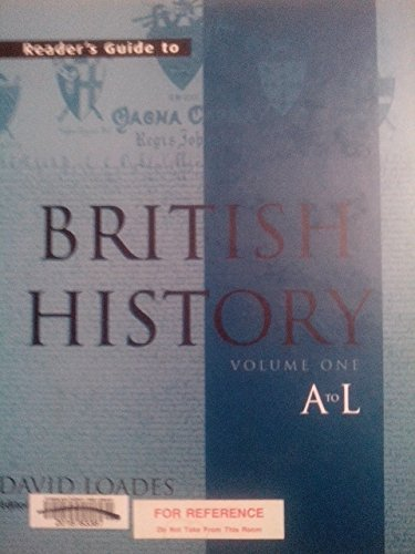 9781579584269: Reader's Guide to British History