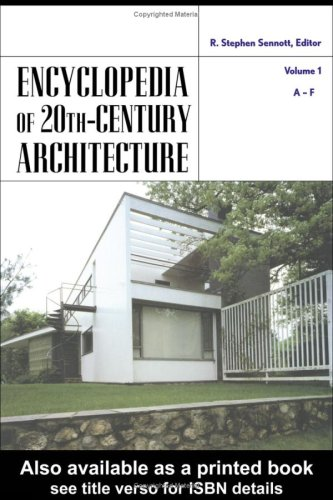 9781579584351: Encyclopedia of 20th-Century Architecture