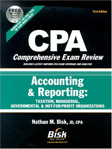 9781579611705: CPA Comprehensive Exam Review 2002-2003: Accounting & Reporting: Taxation, Managerial, Governmental & Not-for-Profit Organizations (31st Edition)
