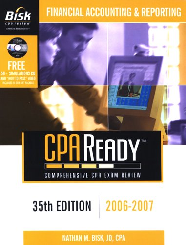9781579614737: Bisk CPA Ready: Financial Accounting & Reporting (Bisk CPA Ready Comprehensive Exam Review)