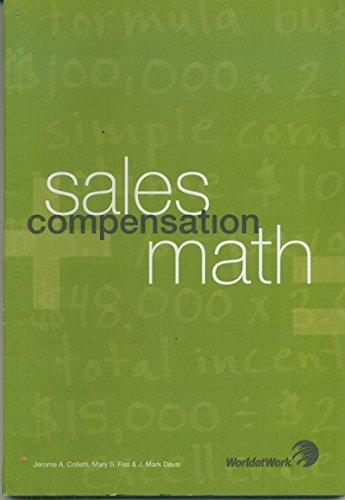 9781579631864: Sales Compensation Math