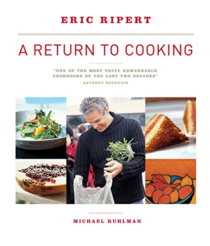 A Return to Cooking (1579653936) by Eric Ripert; Michael Ruhlman