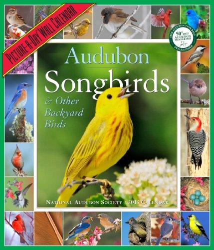 9781579654849: Audubon Songbirds & Other Backyard Birds Calendar 2013