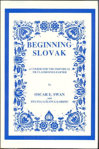 9781579702083: Beginning Slovak CDs & text (Slovak Edition)