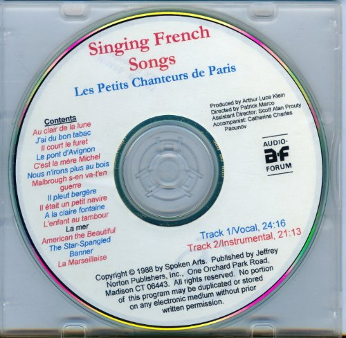 9781579702304: Singing French Songs (French Edition)