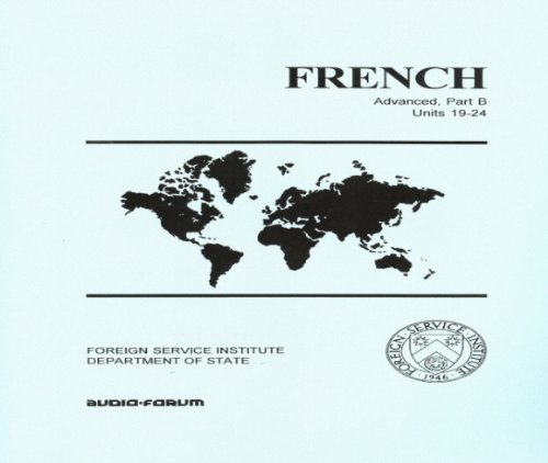 9781579706449: French Advanced B on MP3 with Text (French Edition)