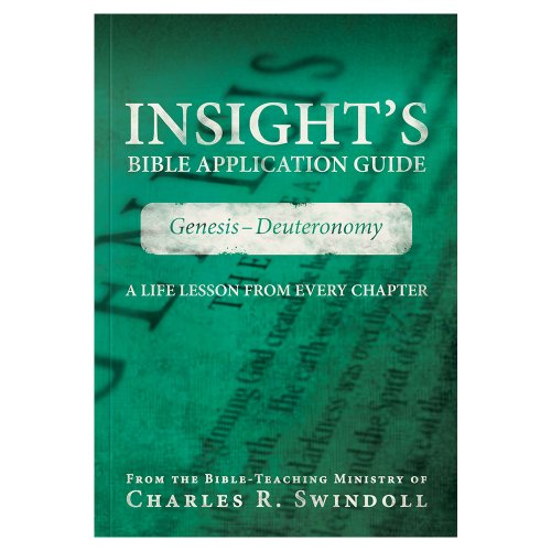 Insight's Bible Application Guide: Genesis-Deuteronomy - A: Insight for Living,