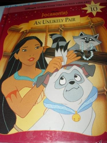 9781579730062: Pocahontas: An Unlikely Pair (Disney's Storytime Treasures Library)