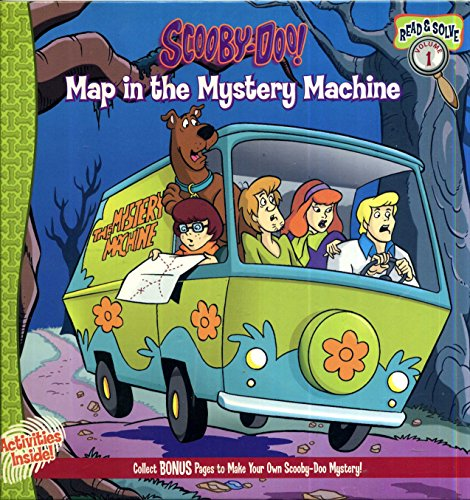 9781579732387: Scooby Doo Map in the Mystery Machine (Read and Solve, 1)