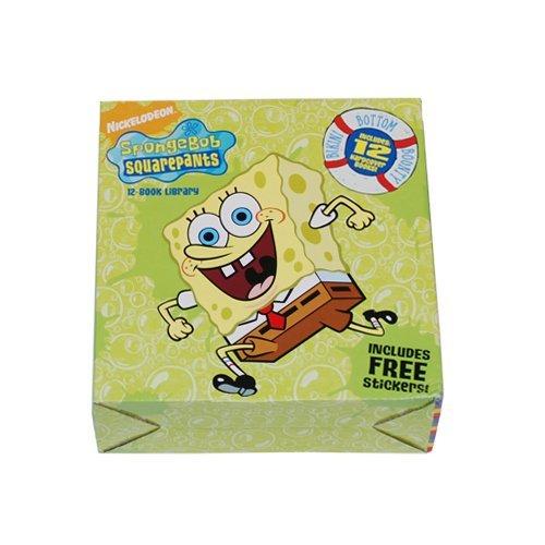 Spongebob Squarepants 12 Book Hardcover Library: Nancy Krulik