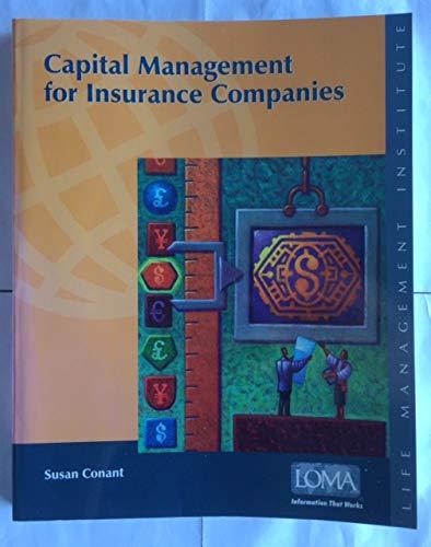 Capital Management for Insurance Companies: Conant, Susan