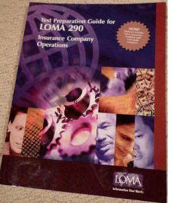9781579742102: Test Preparation Guide for LOMA 290 Insurance Company Operations