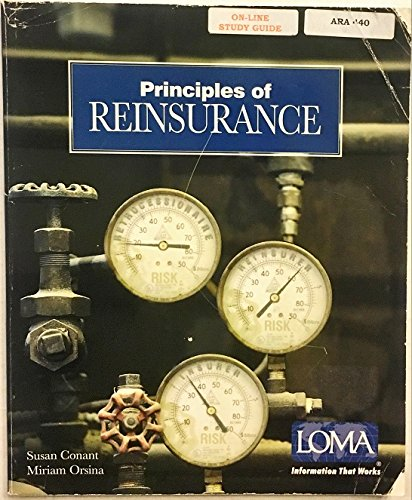 Principles of Reinsurance (1579742785) by Susan Conant