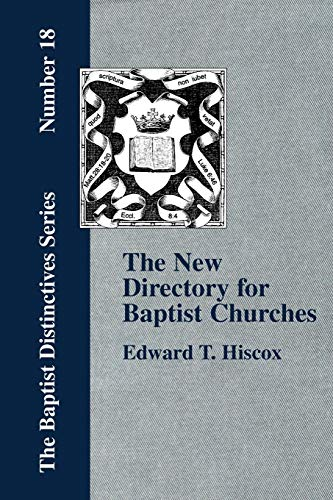 9781579784225: The New Directory for Baptist Churches