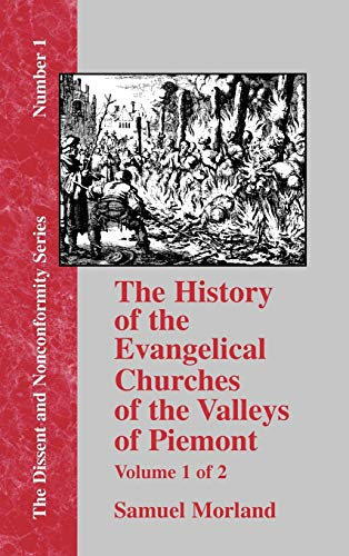 9781579785291: History of the Evangelical Churches of the Valleys of Piemont - Vol. 1