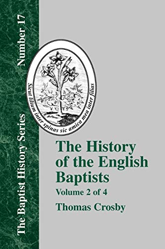 9781579789022: History of the English Baptists - Vol. 2