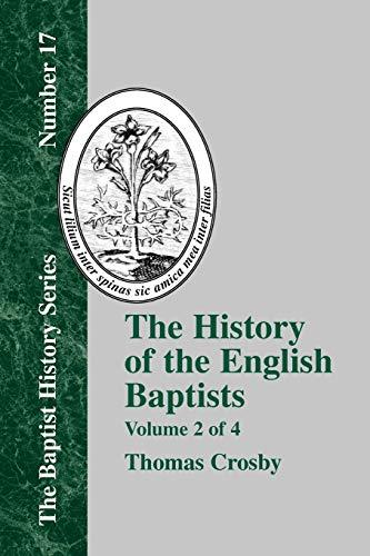 9781579789022: History of the English Baptists - Vol. 2