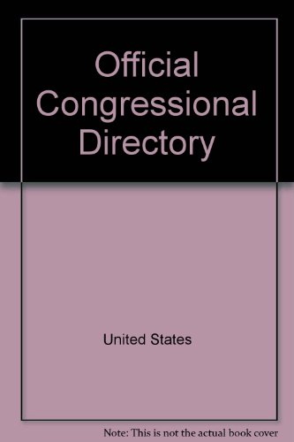 Official Congressional Directory: 107th Congress: United States