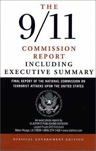 9781579809676: 9/11 Commission Report: Final Report of the National Commission on Terrorist Attacks Upon the United States (Official edition) Including the Executive Summary
