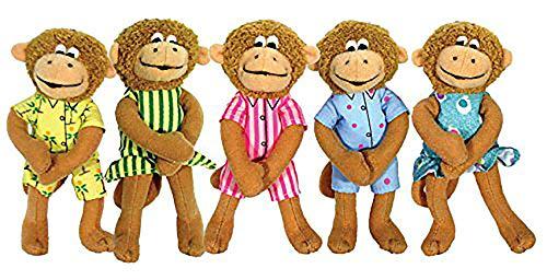 9781579822460: Puppet-5 Little Monkeys Finger